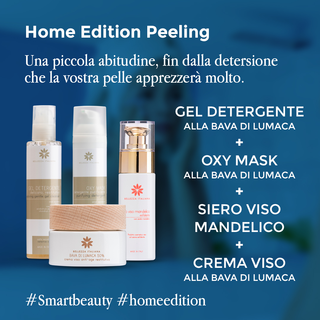 Peeling viso #HOMEedition